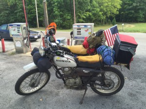 Along the Trans America Trail, August 2016