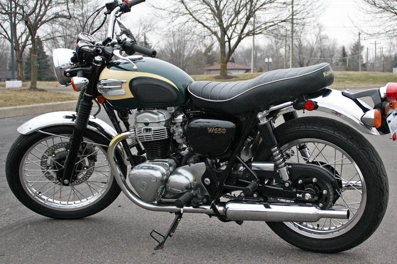 Sold: 2001 Kawasaki W650